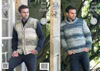 KC 4293 Sweater and Waistcoat