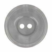 Button Round 20mm Grey