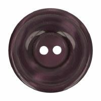 Button Round 20mm Burgundy