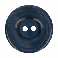 Button Round 20mm Dark Blue