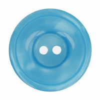 Button Round 20mm Turquoise