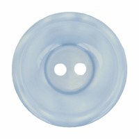 Button Round 20mm Pale Blue