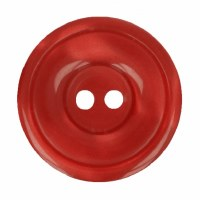 Button Round 20mm Red