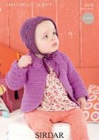 Sirdar 4478 Snuggly 4Ply coat