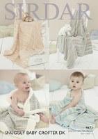 Sirdar 4673 Blankets in dk