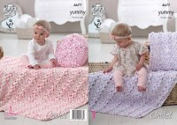 KC 4677 Cushion & Blanket