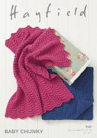 Hayfield 4684 Blankets in chun
