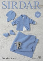 Sirdar 4686 Jacket Blanket 4pl