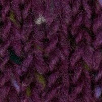 Studio Donegal Aran Tweed Plum