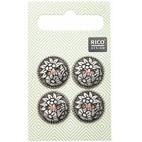Rico Buttons 4-pack 17mm Tradi