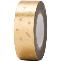 Tape Confetti Gold, Hot Foil