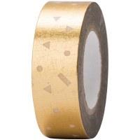 Tape Confetti Gold, Hot Foil