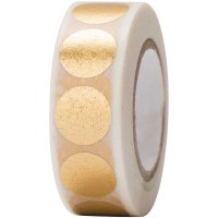 Tape Dots Gold, Hot Foil