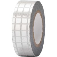 Tape Grid Silver, Hot Foil