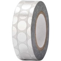 Tape Dots Silver, Hot Foil