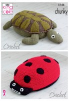 KC 5146 Ladybird & Turtle Poof