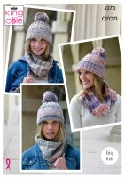 KC 5270 Snoods & Hats aran