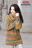 Adriafil 59 Pullover in Zebrin