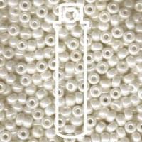 Beads Ivory Pearl Ceylon 6/0