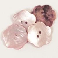 Drops Button 602 Flower Blush
