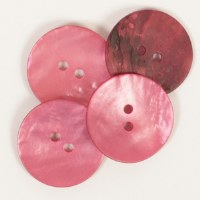 Drops Button 610 Round Red
