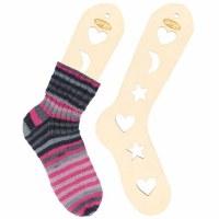 Wooden Sock Blockers Small