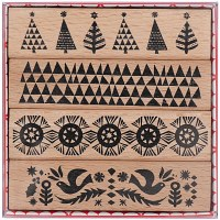 Stamp Set Christmassy borders