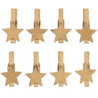 Rico Clips, Star Wood Gold