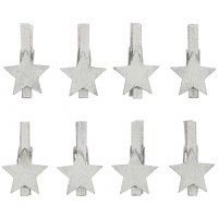 Rico Clips, Star Wood Silver