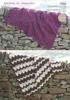 Hayfield 7059 Aran Crochet Bla