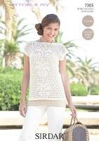 Sirdar Cotton 4Ply 7305