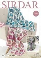 Sirdar 7821 Crochet Blankets