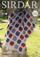 Sirdar 7833 Crochet Blankets d