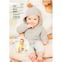 Rico 1037 Hooded sweater/cardi