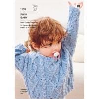 Rico 1159 Sweater/Cardi/Hat dk