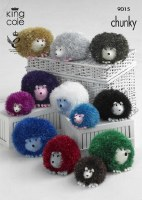 KC 9015 Tinsel Hedgehogs