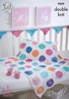 KC 9039 Crochet Baby Accessori