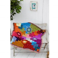 Stylecraft 9233 Flower Throw c