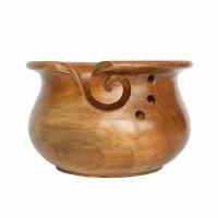 Scheepjes Yarn Bowl Teak Wood