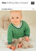 Rico 086 Cable sweaters in dk