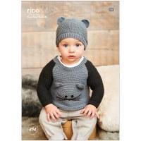 Rico 464 Sweaters & Hat in dk