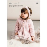 Rico 791 Cardi & Headband dk
