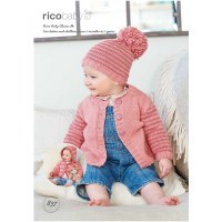 Rico 837 Cardigans & Hat dk
