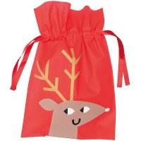 Gift Bag, Reindeer 30x45cm