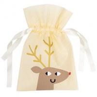 Gift Bag, Reindeer 20x30cm