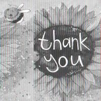 Alex Clark Thank You Sunflower