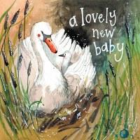 Alex Clark Swan New Baby