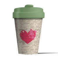 Bamboo Cup Love Letter
