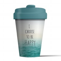 Bamboo Cup Choose Happy