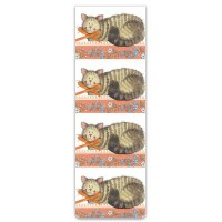 Alex Clark Bookmark Cat & Bow